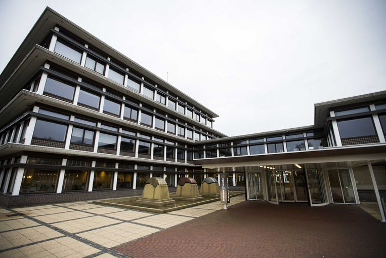 Het Provinciehuis van Drenthe in Assen.  Beeld ANP