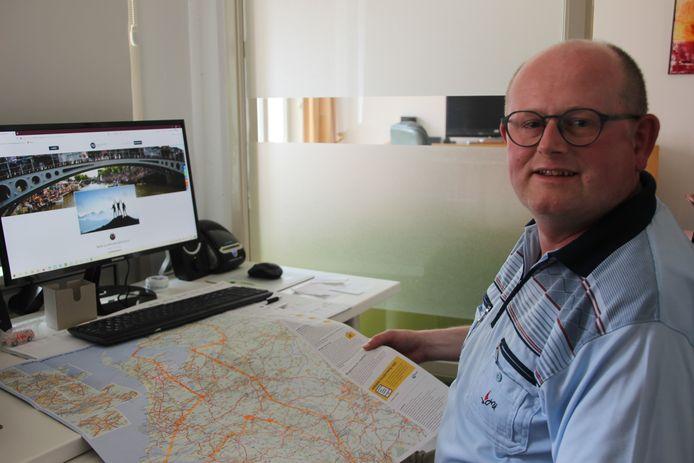 De Maarten van der Weijden Foundation staat pal achter de sponsoractie van Ronald van Venrooij. Hij heeft zijn voetreis van provinciehoofdstad naar provinciehoofdstad al uitgestippeld.