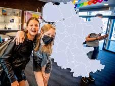 KAART | Weer minder nieuwe besmettingen: heel Oost-Nederland 'grijs', opvallende daling in Putten