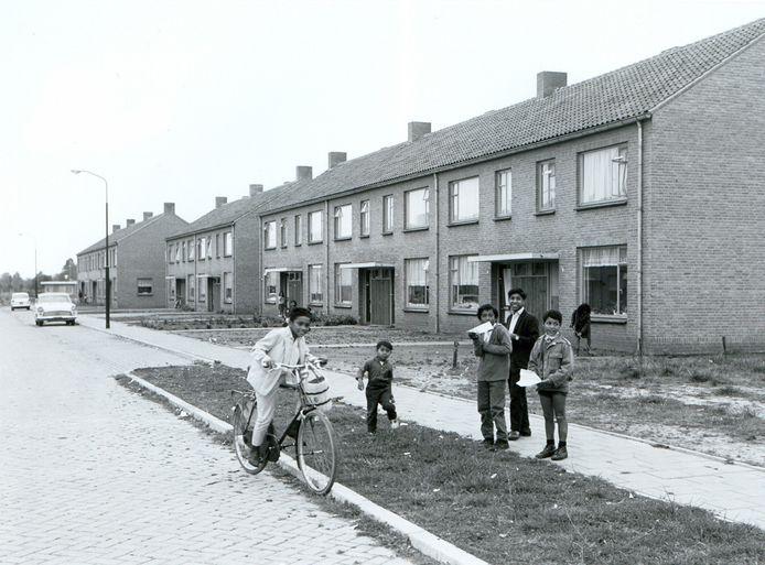 De straat Van 't Rijk in Nistelrode werd in 1965 gebouwd speciaal voor de Molukse gezinnen, die tot dan in een voormalig werkkamp net buiten het dorp hadden gewoond.