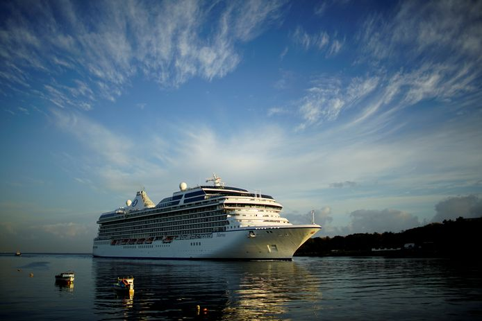 Un navire de la compagnie Norwegian Cruise Line, à Cuba