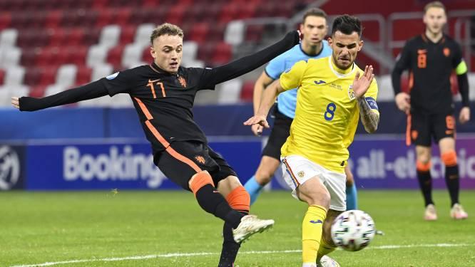 """Noa Lang man van de match bij Jong Oranje, dat EK opent met gelijkspel: """"Ik kan hier beslissend zijn"""""""