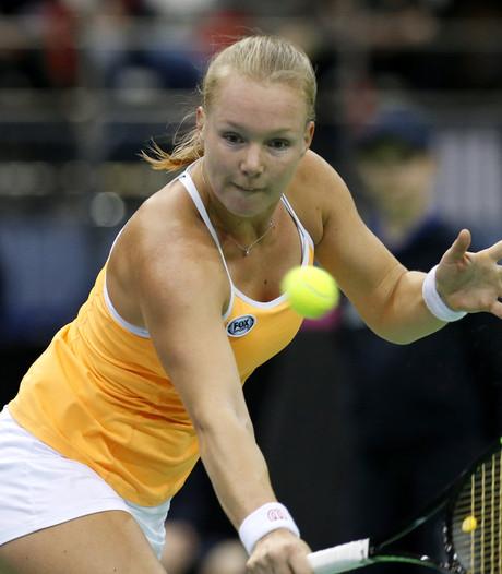 Nederlandse tennissters tegen Verenigde Staten op Fed Cup