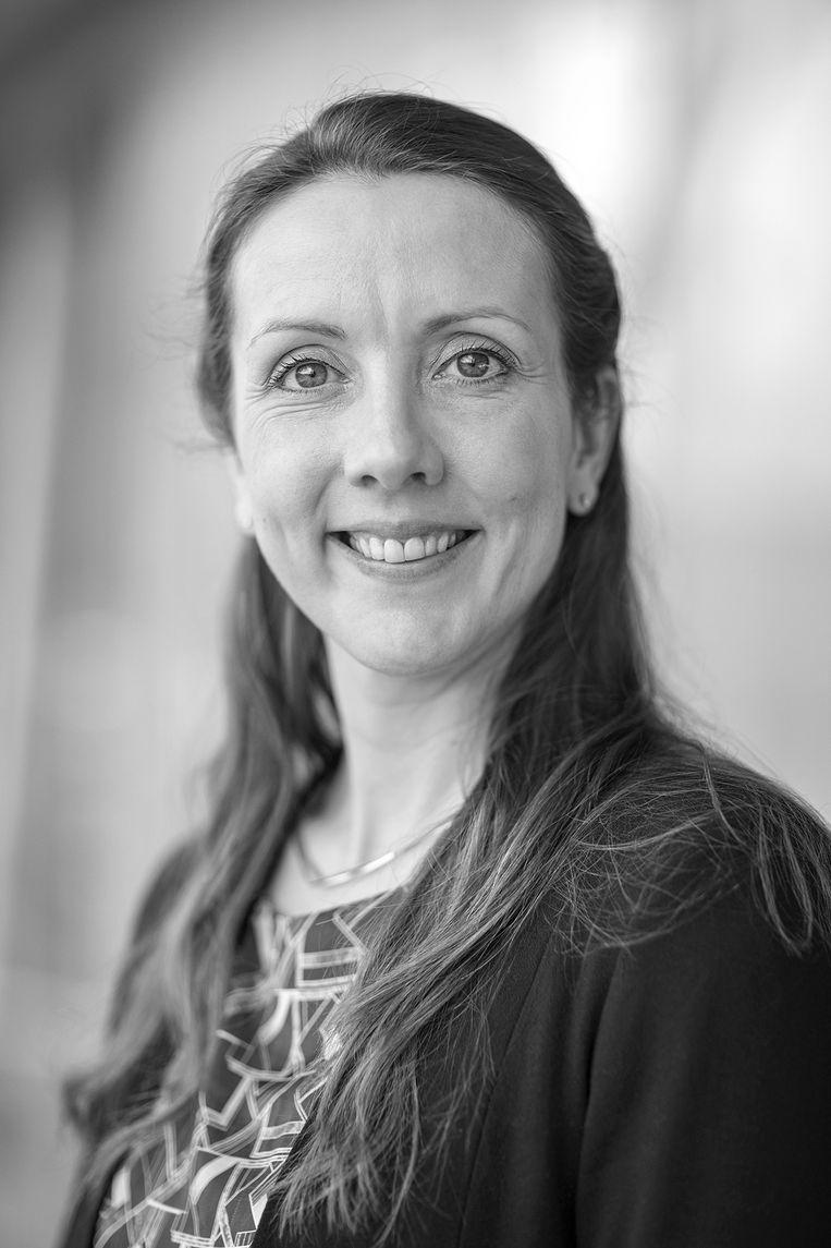 Jojanneke van der Toorn is hoogleraar inclusie van lhbti-werknemers aan de Universiteit van Leiden. Beeld Ed van Rijswijk