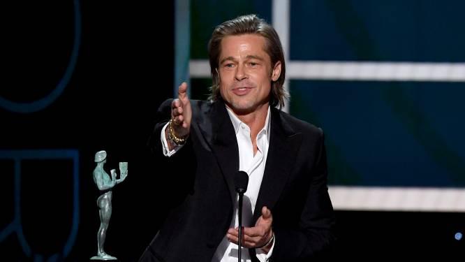 Charmant, grappig en snedig, maar schrijft Brad Pitt zijn speeches wel zelf?