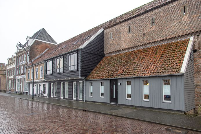 De Schuttevaerpanden aan de Buitenkant in Zwolle.