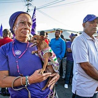 Macht tegen macht: dat is de boodschap van Bouterse aan de Krijgsraad