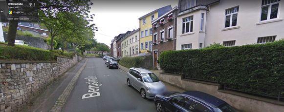 Rue de la Montagne in Eupen