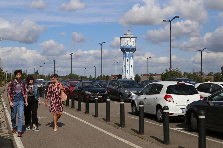 Groen Landen wil niet dat de volledige stationsparking betalend wordt.