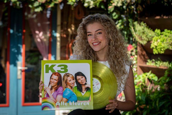 Julia uit Bergen op Zoom wil K3 meisje worden en zit in de voorrondes.