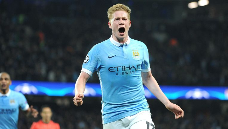 Kan De Bruyne City richting kampioenenbal loodsen? Beeld Photo News