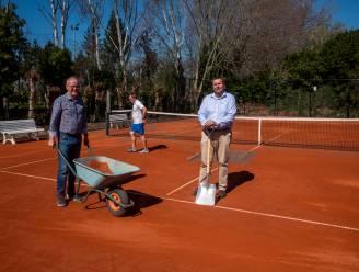 Tennisclub Wetteren heeft plannen voor padel en is ook klaar voor buitenseizoen op vijf nieuwe pleinen
