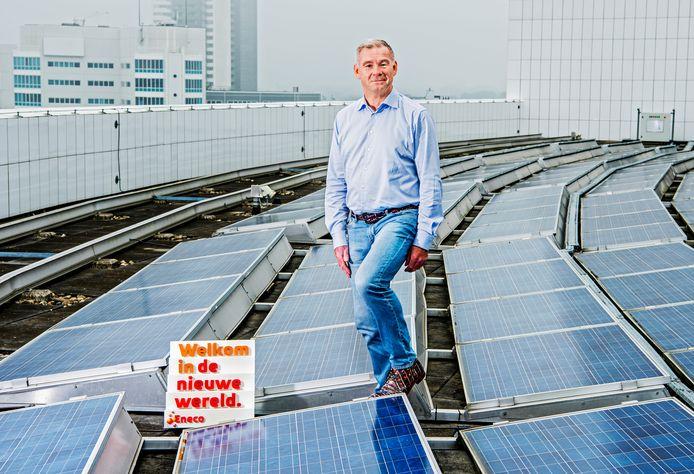 Voorzitter Willem Hofman van de ondernemingsraad van Eneco is fel tegen verkoop zonder harde garanties.