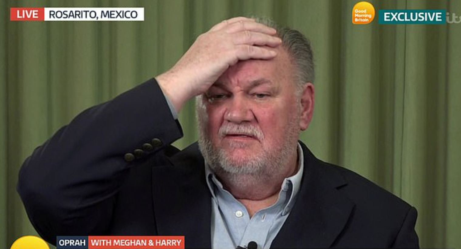 Thomas Markle bij Good Morning Britain