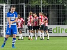 PSV Vrouwen schiet pas na rust met scherp tegen PEC Zwolle