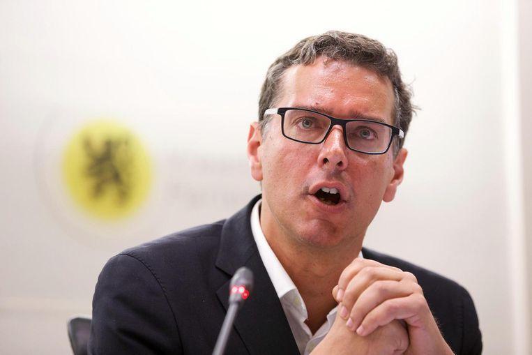 Intendant Alexander D'Hooghe Beeld belga