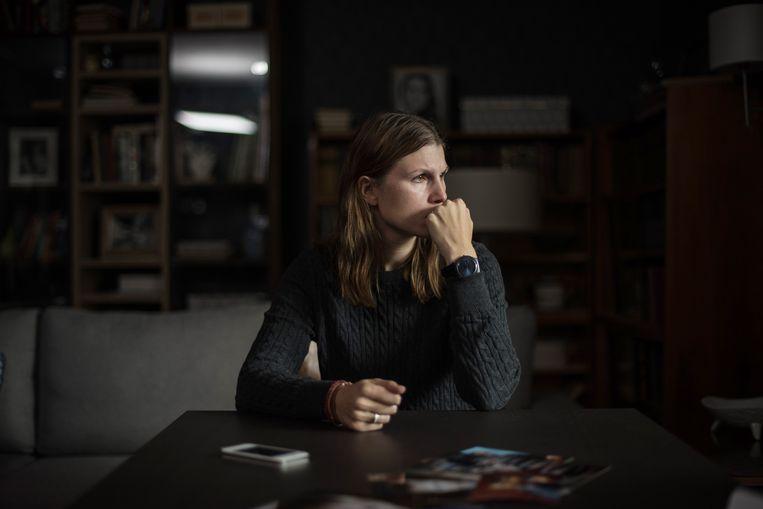 Maryana Spivak speelt Zhenya in 'Loveless'. Beeld Jeanette Vos001