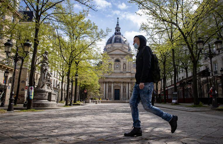 De befaamde Sorbonne-universiteit. Beeld EPA