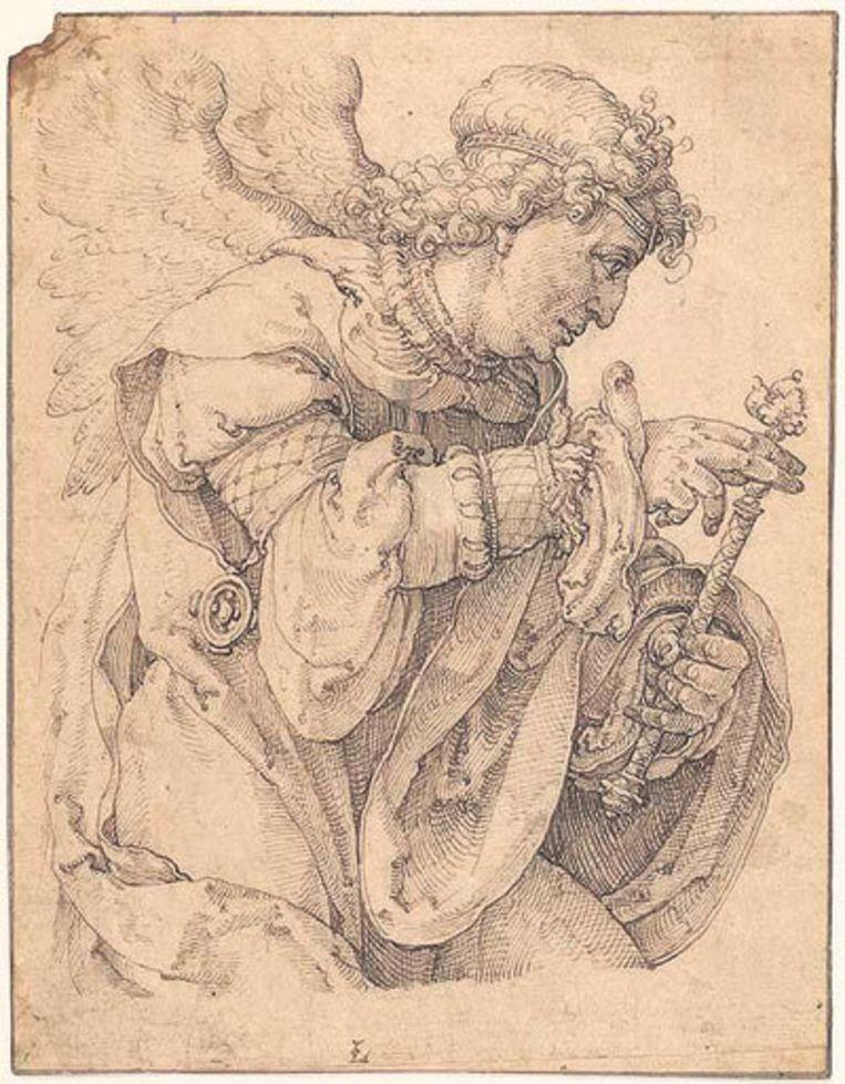 Lucas van Leyden: Aartsengel Gabriël (ca. 1520) Beeld