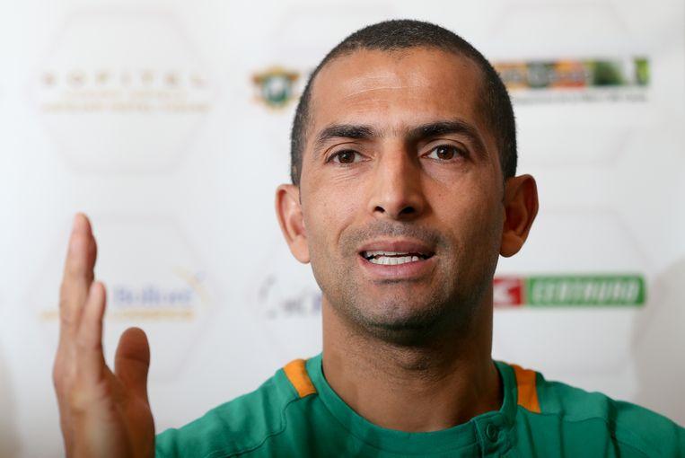 Sabri Lamouchi speelde met Ivoorkust in de voorbereiding op het WK 2014 een oefeninterland tegen de Duivels in Brussel. Beeld BELGA