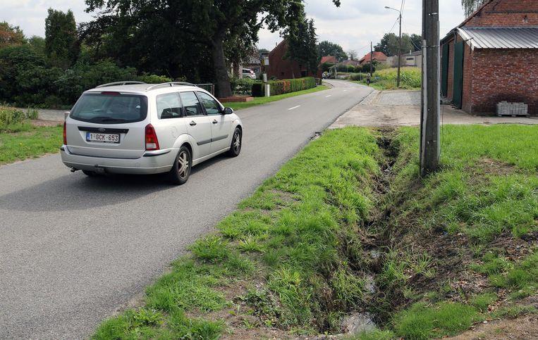 In de Broekstraat in Olmen is er alvast riolering op komst.
