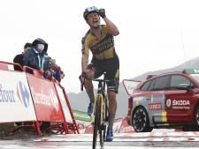 Vuelta: Primoz Roglic s'impose en solitaire et récupère le maillot rouge