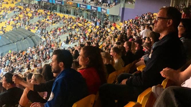 Grootste openluchtconcert sinds pandemie: 30.000 mensen wonen optreden bij in Nieuw-Zeeland