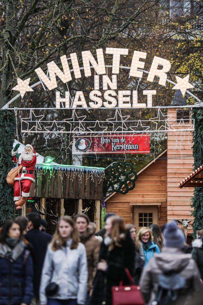 Archiefbeeld Winterland Hasselt.