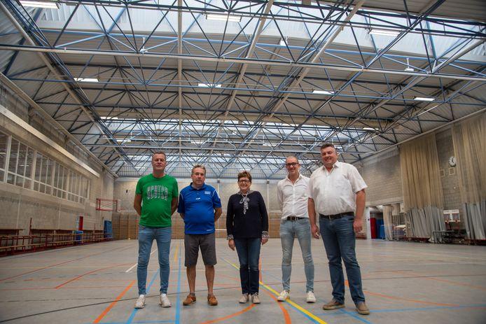 ILLUSTRATIEBEELD: Sporthal De Kluize Oosterzele