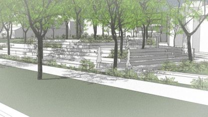 Private tuin wordt open stadspark