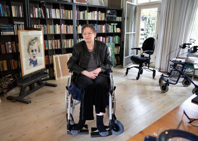 Marieke van de Ree in haar huis in Helmond.