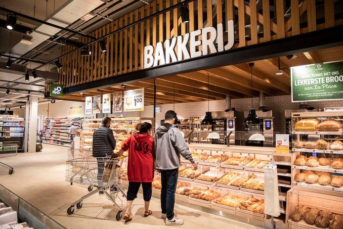 Een blik in de nieuwe winkel in Heusden-Zolder.