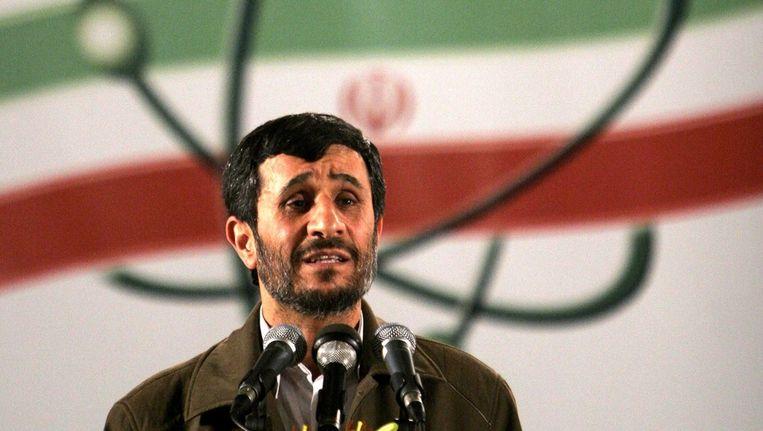 Ahmadinejad Beeld ap