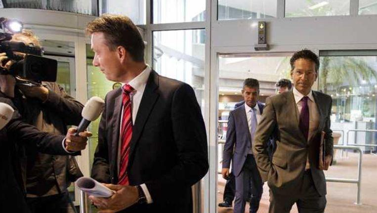 VVD-leider Halbe Zijlstra (L) en Minister Jeroen Dijsselbloem (Financiën) Beeld anp