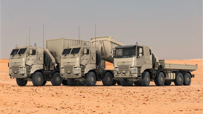 DAF gaat types van de CF Military Truck leveren aan de Belgische krijgsmacht.