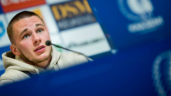 """Alexandre De Bruyn (AA Gent): """"Ik voel geen stress in de groep"""""""