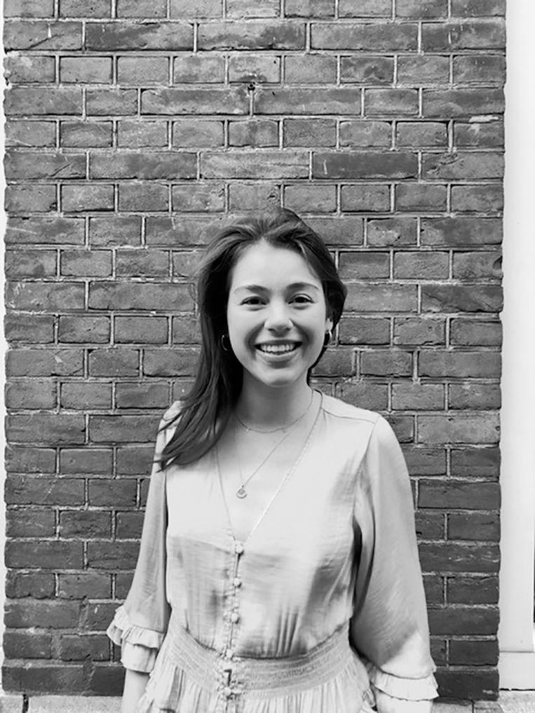 Christine Mertens, promovenda Amerikaanse geschiedenis aan Universiteit Leiden en het Roosevelt Institute for American Studies. Beeld Eigen foto