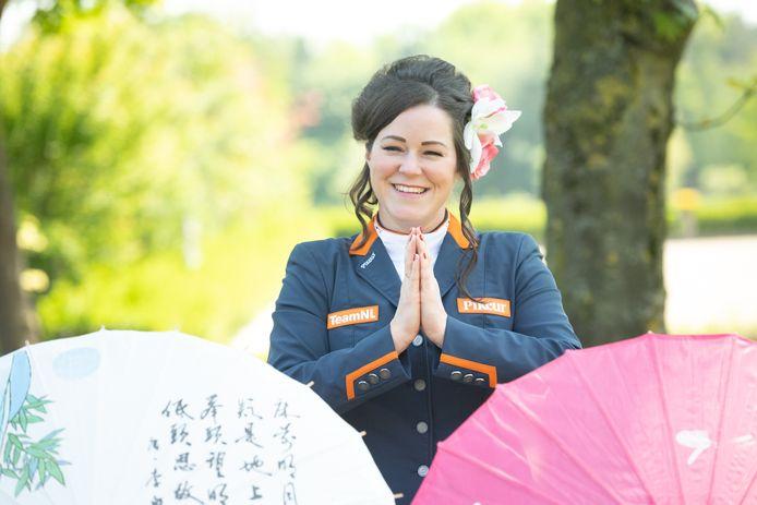 De Berghemse amazone Sanne Voets is klaar voor de Paralympics in Tokio.
