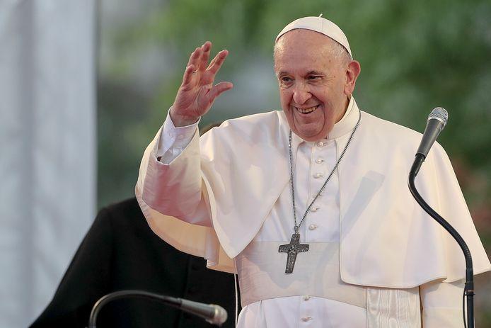 """Le pape François est en visite en Slovaquie du 12 au 15 septembre sous la devise officielle: """"Avec Marie et Joseph sur le chemin de Jésus"""""""