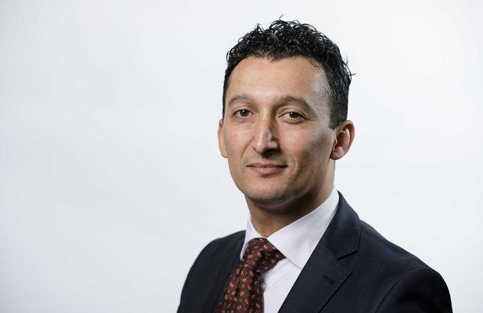 Huidig fractievoorzitter Hafid Bouteibi