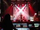 De soundcheck van John Petrucci, Rena Sands en huisband maandagmiddag in Gebouw-T.