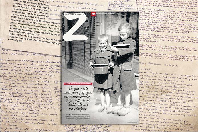 In de oorlogswinter van '44-'45 stierven in het Westen 22.000 mensen van de honger. We vroegen lezers naar hun ervaringen uit de Hongerwinter. Dat leverde honderden aangrijpende brieven op. Dit weekend te lezen in de bijlage van de krant of op de website bij /hongerwinter.