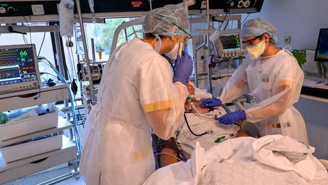 OVERZICHT. Aantal ziekenhuisopnames blijft stabiel, gemiddeld aantal besmettingen daalt met 4 procent