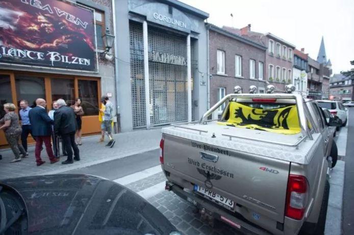 De bestuurder E.M. van de beruchte truck werd even opgepakt.