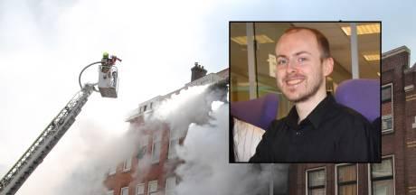 Tilburgse Robert (27) voelde zich voor fatale brand al onveilig: 'Hij had verhuisplannen'