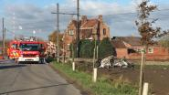 Auto vliegt in brand na aanrijding door trein: meisje (8) en vrouw (68) komen om