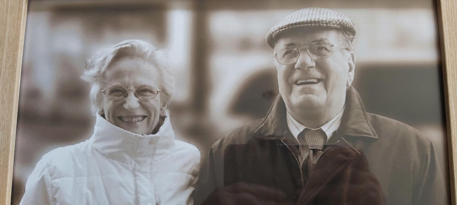 Robert Dekemel en zijn vrouw Marie-José De Baets