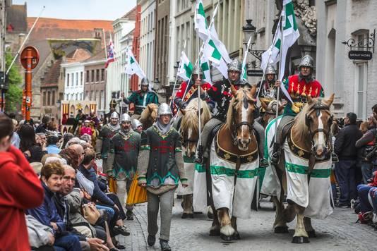 De processie kan sowieso het grote publiek bekoren.