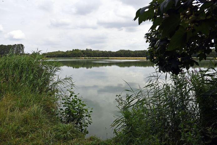 Natuurgebied Canisvliet in het Zeeuws-Vlaamse Westdorpe.