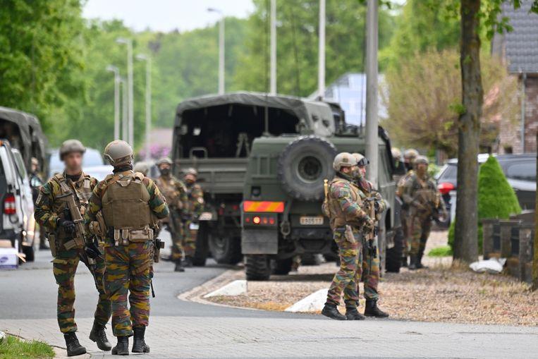 Zoektocht naar de Belgische voortvluchtige militair Jürgen Conings. Beeld BELGA